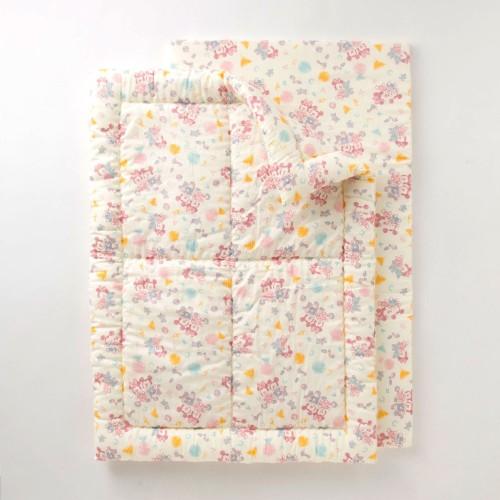 綿素材を使った2重ガーゼのお昼寝布団セット メイン
