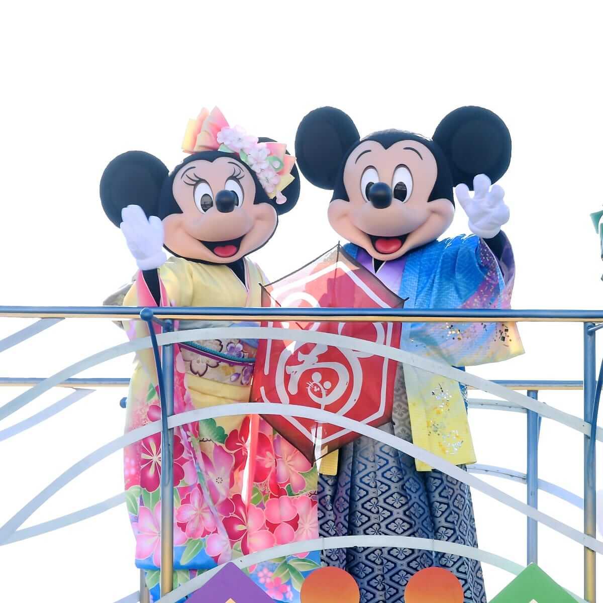 """東京ディズニーシー""""東京ディズニーリゾートのお正月2020""""ニューイヤーズ・グリーティング"""