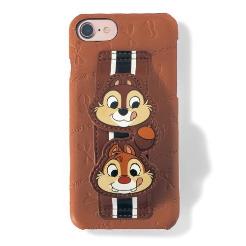 iPhone8/7/6s/6 ハンドル付きスマートフォンケース チップ&デール