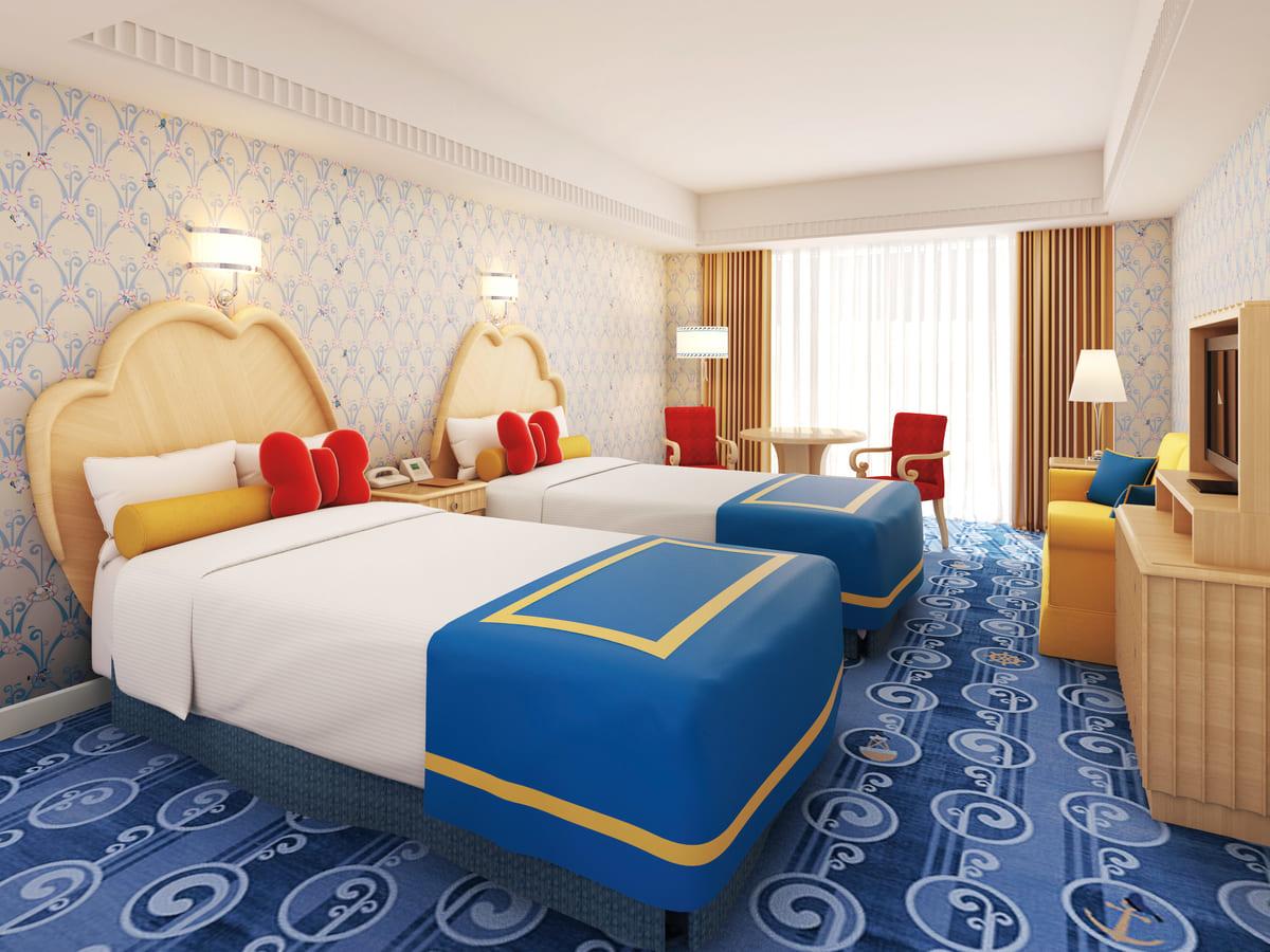 ディズニーアンバサダーホテル ドナルドダックルーム イメージ Dtimes