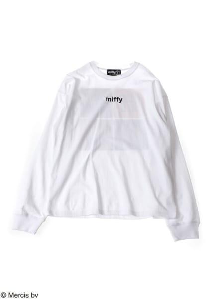 miffy(ミッフィー)ロゴ ロングTシャツ3