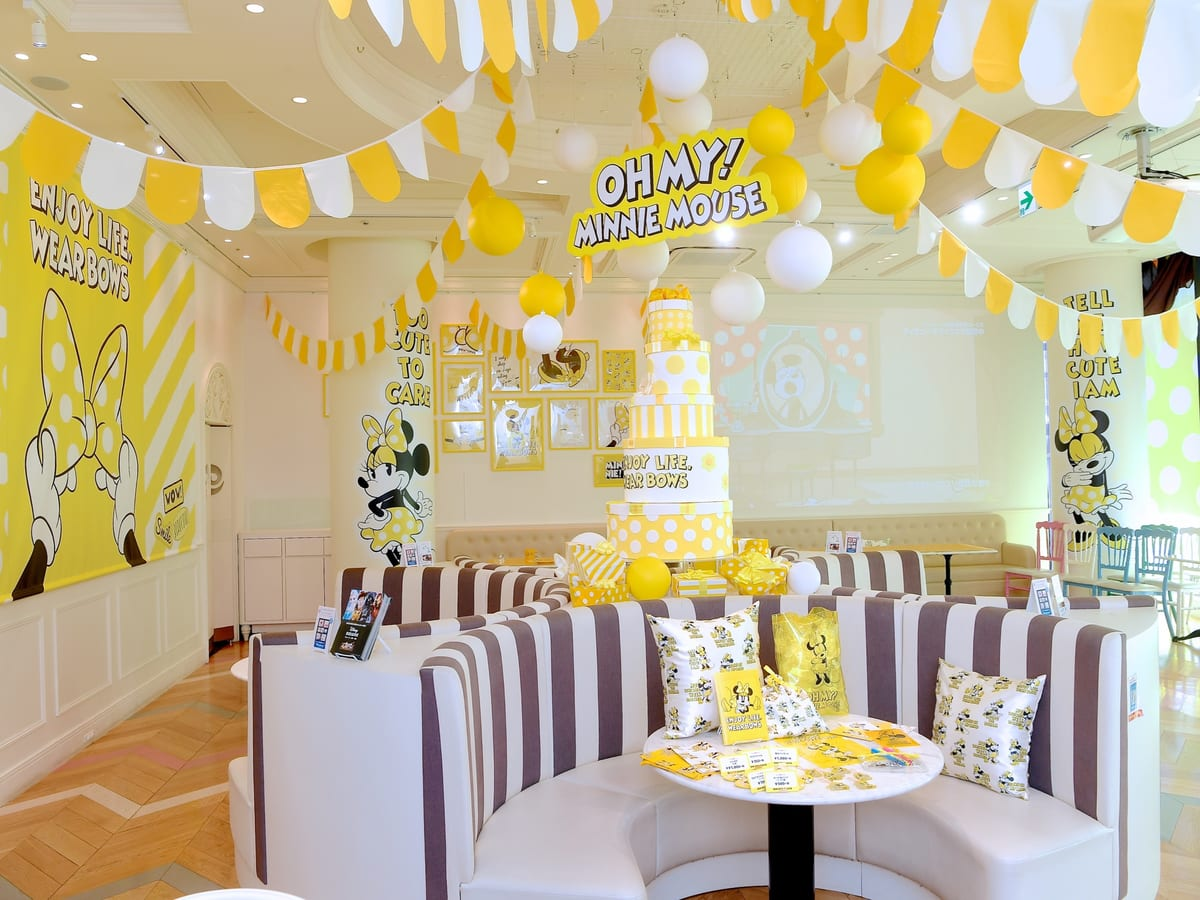 「OH MY! MINNIE MOUSE」OH MY CAFE 店内