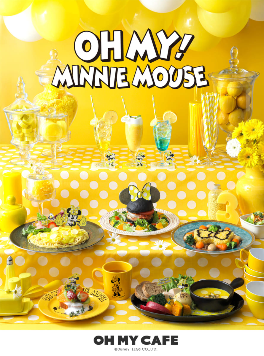 「OH MY! MINNIE MOUSE」OH MY CAFE