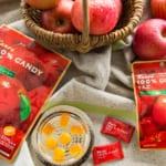 「100%CANDYりんご」「100%GUMMYりんご」