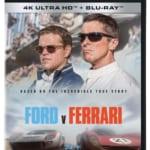 『フォードvsフェラーリ』4KUHDジャケット写真