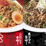 バーミヤン_たっぷり粗挽き肉の冷やし担担麺 赤・黒