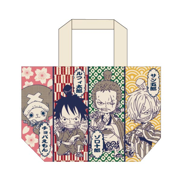 ONE PIECE マチ付バッグ ワノ国