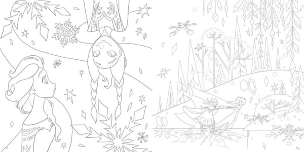 大人ディズニー 夢の世界へ 素敵な塗り絵レッスンブック9