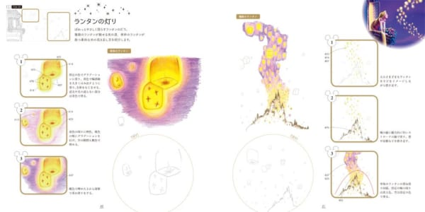 大人ディズニー 夢の世界へ 素敵な塗り絵レッスンブック5
