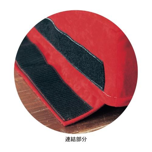 贅沢刺繍のゆったりくつろげるローソファー 連結