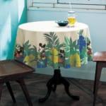 ハワイデザインの撥水テーブルクロス