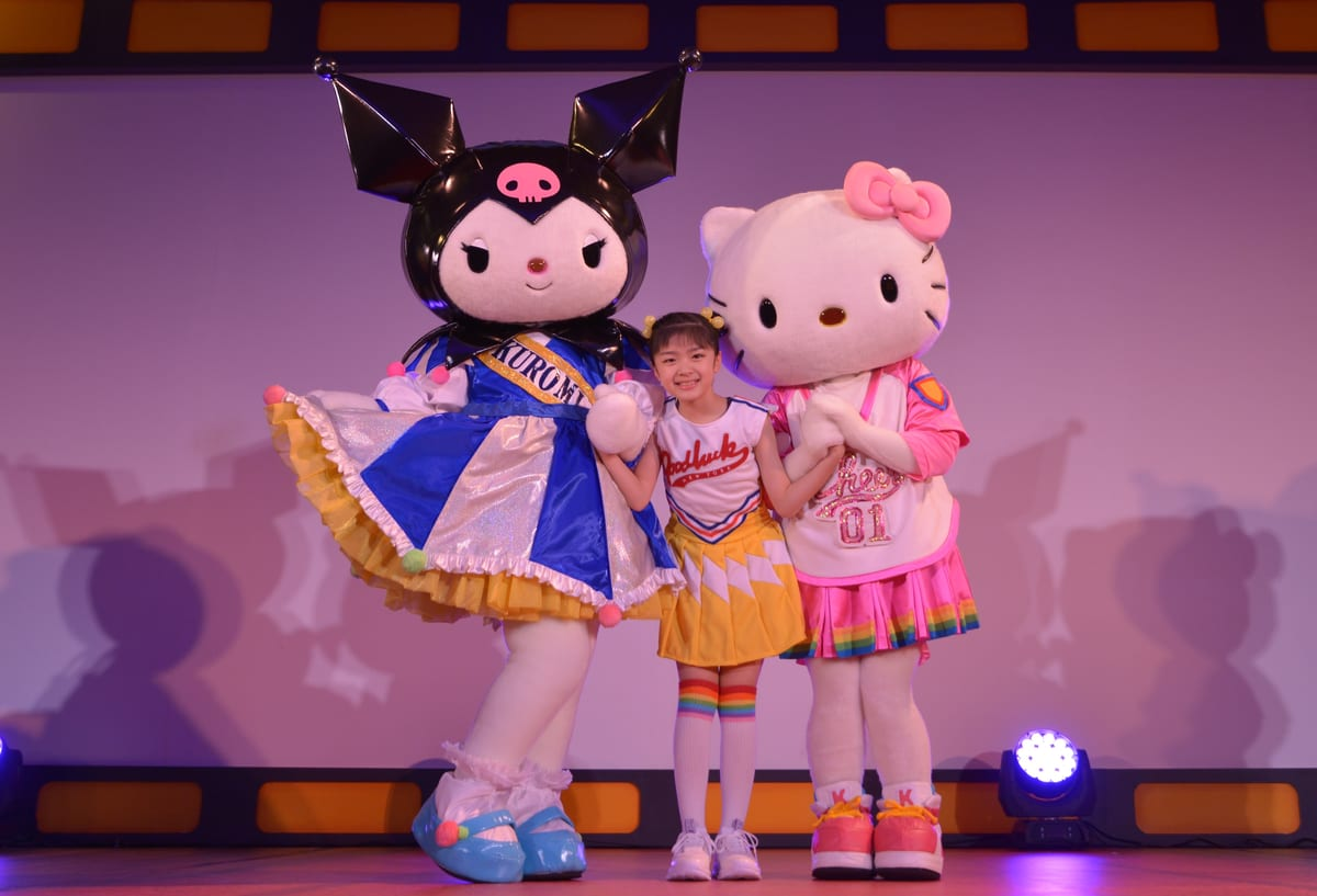 サンリオ ダンス番組「ファンファンキティ!」4