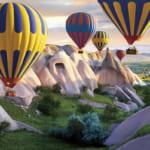 カッパドキアの気球フェス(トルコ)