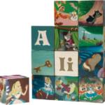 Woodisplay キューブパズル12ピース アリス