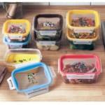 食洗機・電子レンジ対応フタ付き保存容器同サイズ2個セット