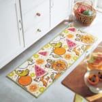 抗菌防臭加工のキッチンマット