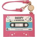 スヌーピー フラット パスケース カセットテープ