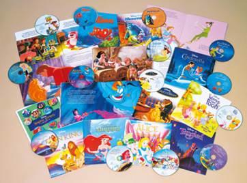 ユーキャン英語CD&絵本セット『ディズニー・マジカル・ストーリーズ』2