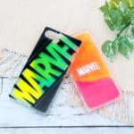 PGA「MARVEL(マーベル)」iPhone用ネオンサンドケース