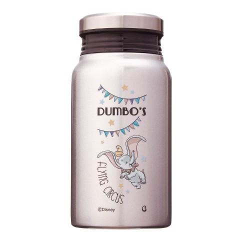 ミルク瓶のような形の保温保冷サーモボトル 400ml ダンボ