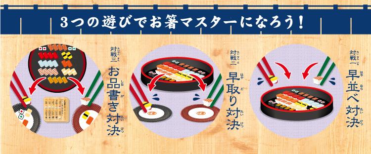 アイアップ「マナー豆(ビーンズ) まめ寿司(ずし)」3