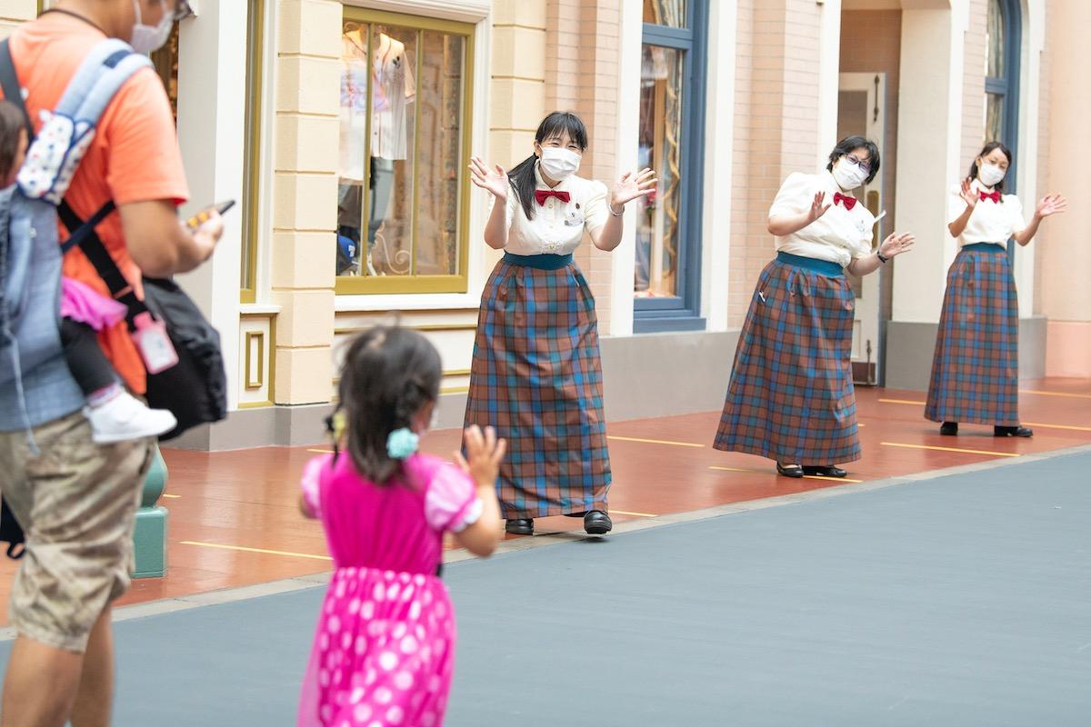 東京ディズニーランド 東京ディズニーシー 2020年7月1日営業再開当日 キャスト