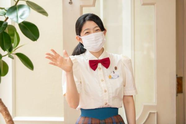 東京ディズニーランド グランドエンポーリアム マスク着用02