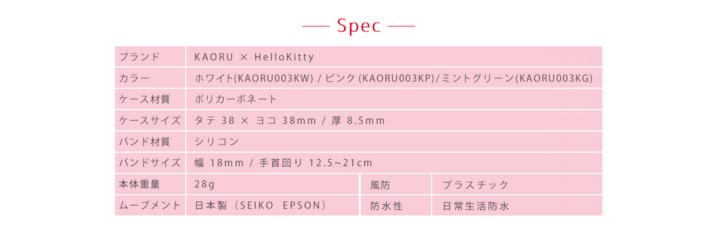 KAORUカオル「Hello Kitty」スイーツコレクション5