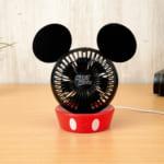 ミッキーマウス プレミアムUSB卓上扇風機
