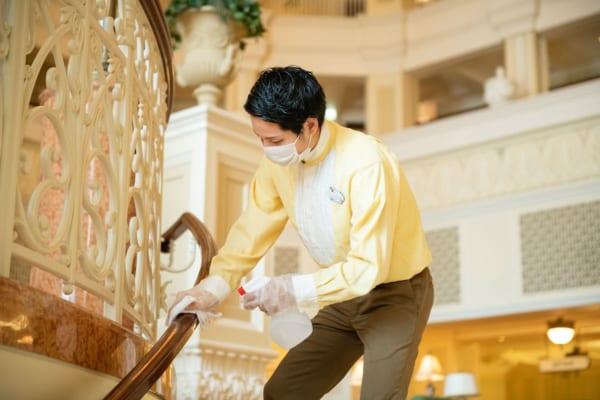 ディズニーホテル 清掃