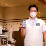 ユニバーサル・スタジオ・ジャパン「大阪コロナ追跡システム」デモンストレーション