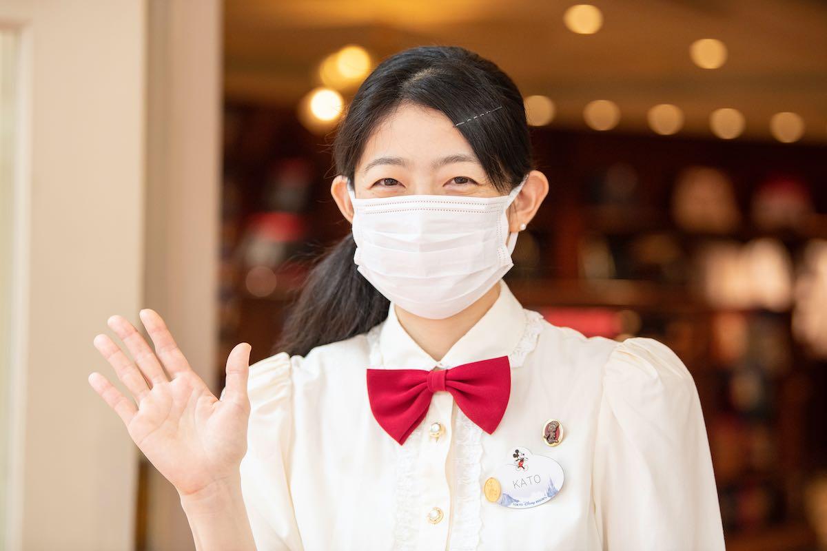 東京ディズニーランド グランドエンポーリアム マスク着用