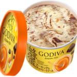 ゴディバ カップアイス 「蜂蜜アーモンドとチョコレートソース」