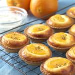 BAKE CHEESE TART「オレンジヨーグルトチーズタルト」2