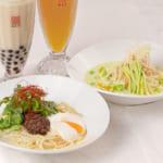春水堂「温玉パクチー&クリーミー枝豆」「夏の涼麺」