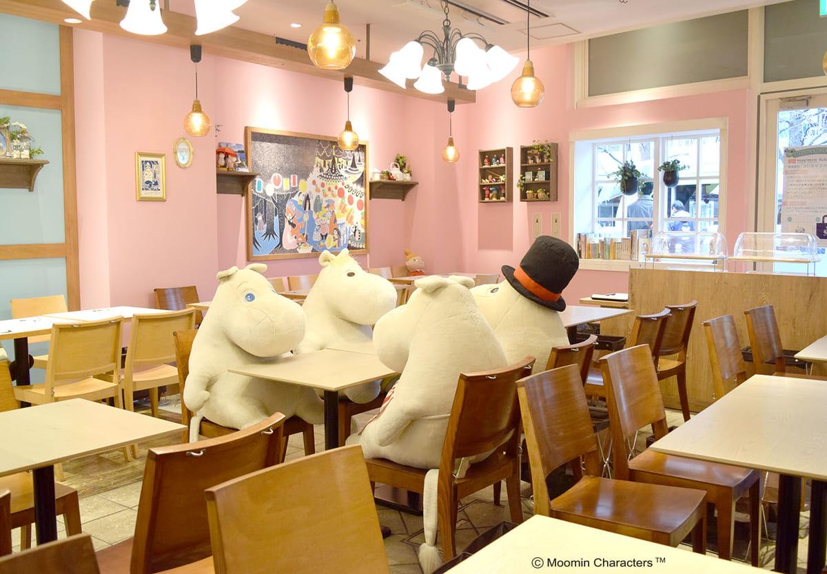ムーミンカフェについて