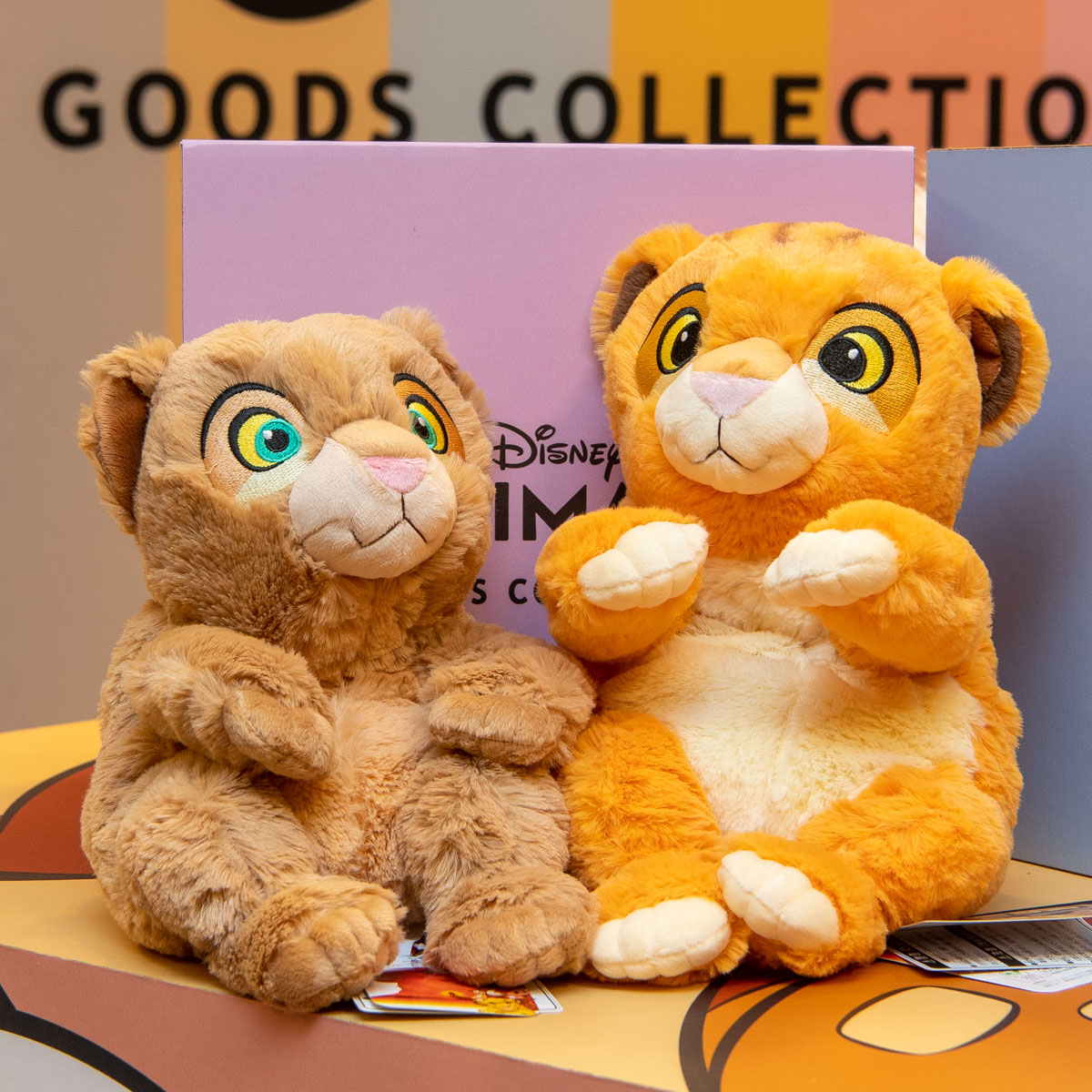 マルイ「DISNEY ANIMALS GOODS COLLECTION」シンバ&ナラ
