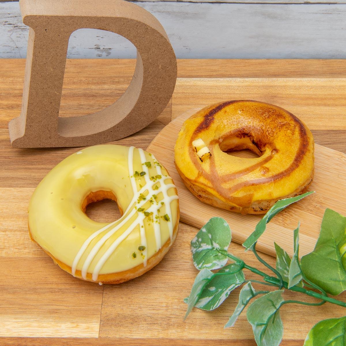 クリスピー・クリーム・ドーナツ「バスク風 チーズケーキ&レモン レア チーズケーキ」