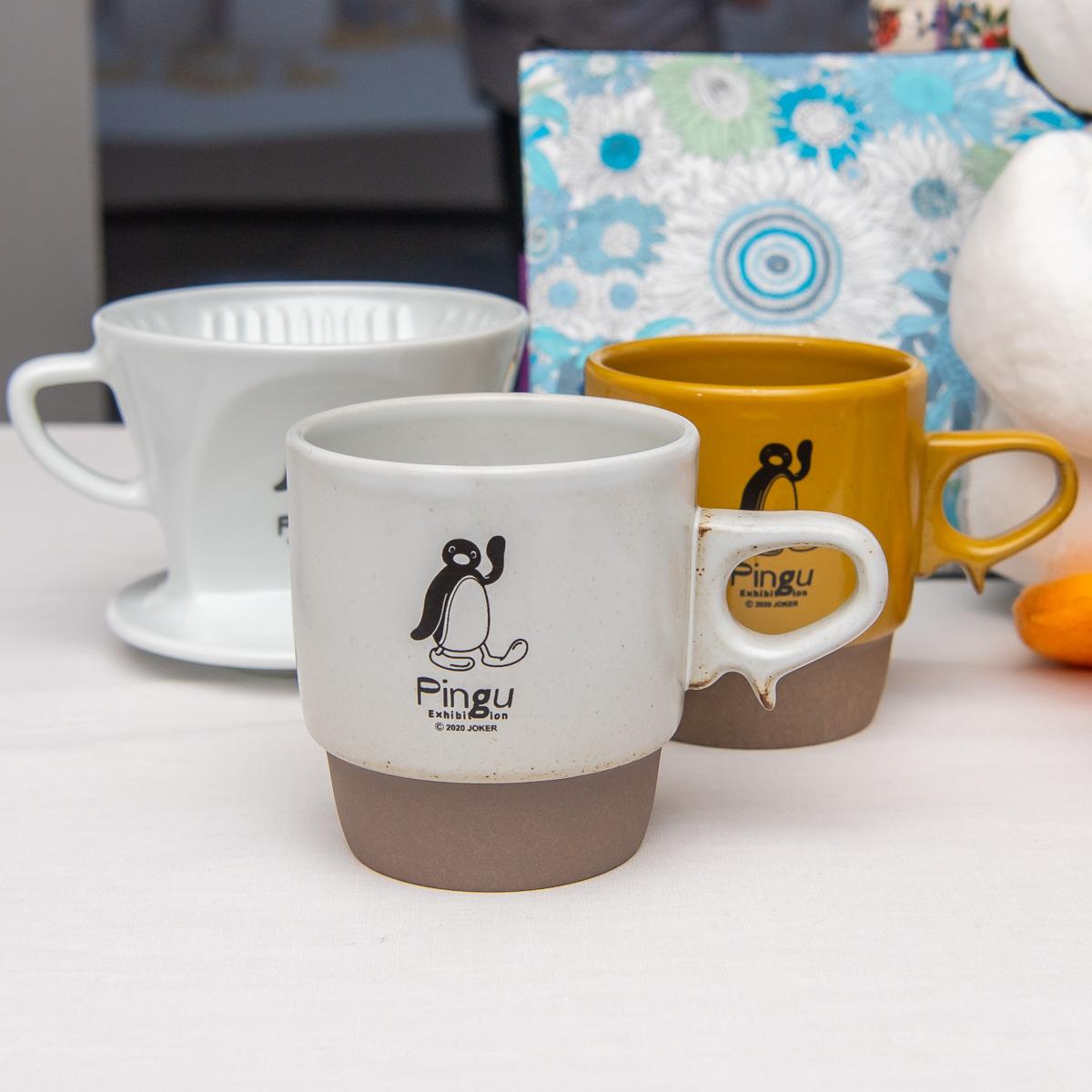 Pingu 40th カリタHASAMIマグカップ(ホワイト・イエロー)