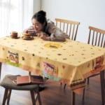 食卓が楽しくなる撥水テーブルクロス 使用イメージ