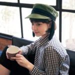 耳つき帽子 着用イメージ