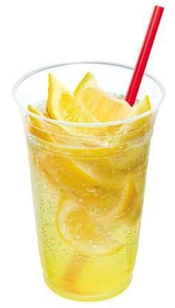 めちゃめちゃレモンのレモネードスカッシュ