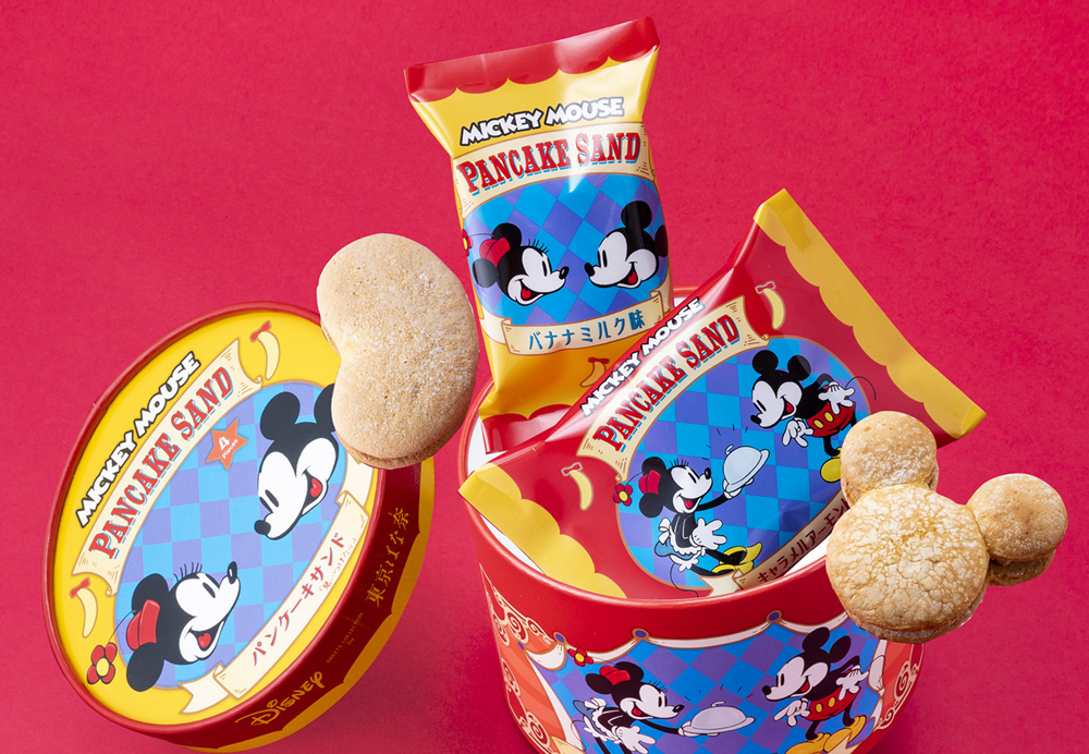 Disney SWEETS COLLECTION by 東京ばな奈  パンケーキサンド