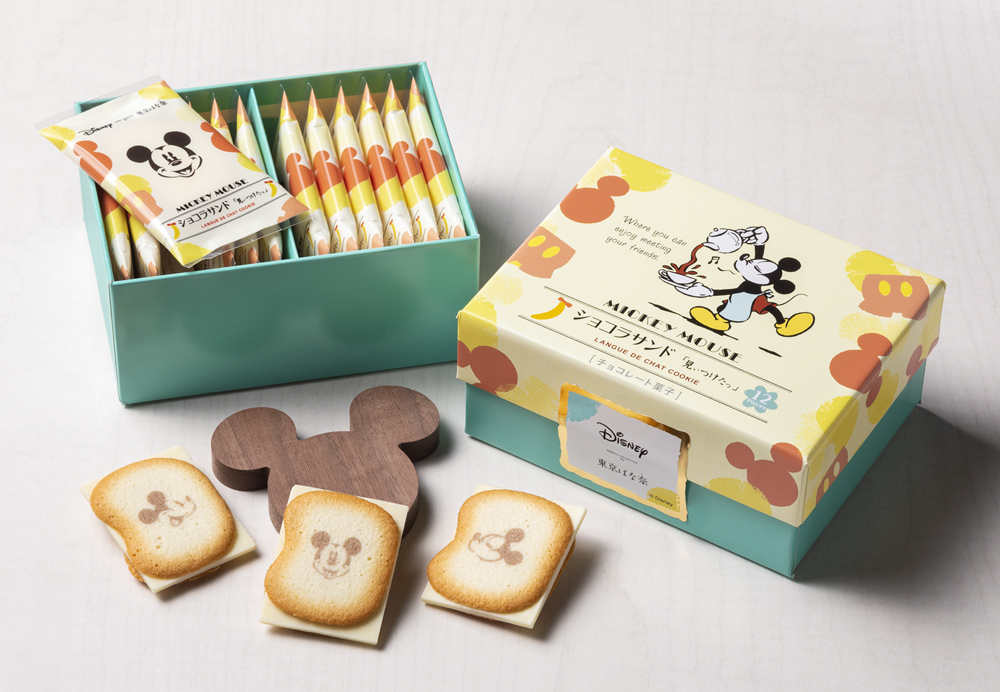 Disney SWEETS COLLECTION by 東京ばな奈 クリームサンド