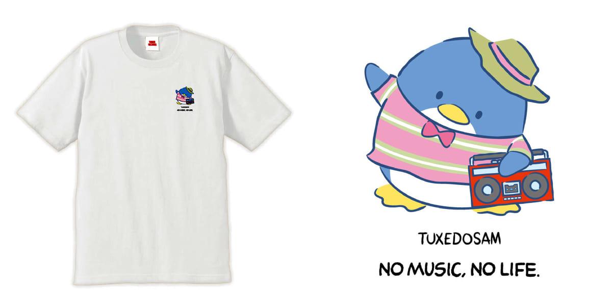 T-shirts ホワイト タキシードサム