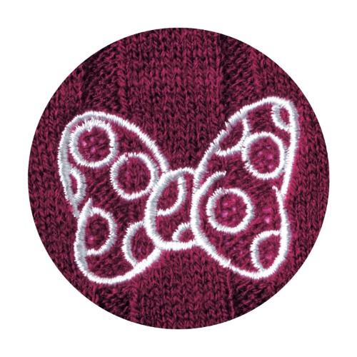 カーディガンワンピース ミニー 刺繍