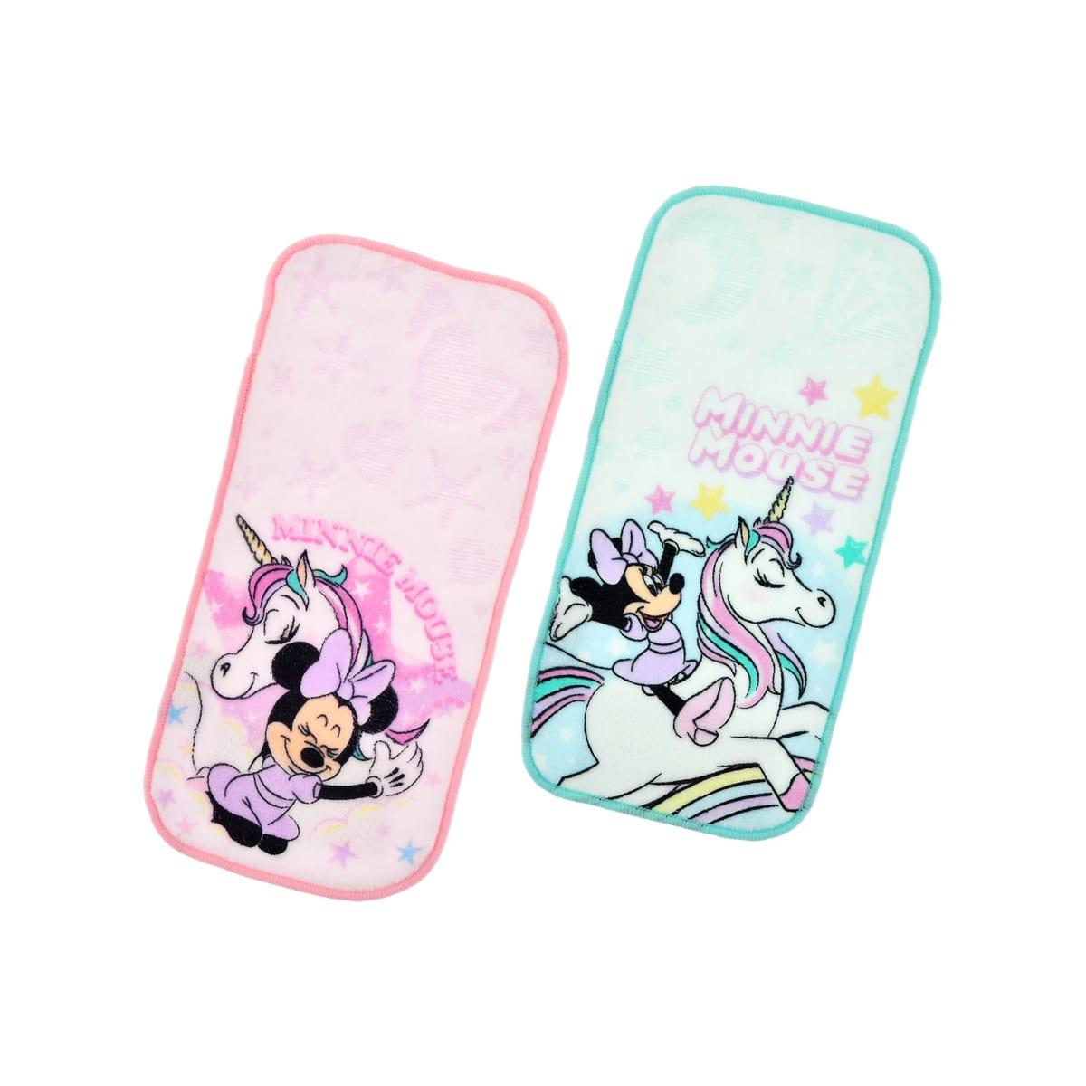ポケットタオル(2枚セット) ミニーマウス