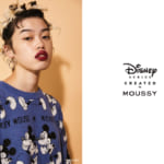 「Disney SERIES CREATED by MOUSSY」2020 AUTUMN COLLECTIONメイン