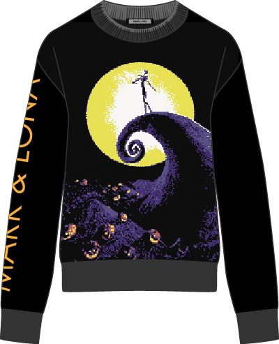 The Nightmare Before Christmas Wind Stopper Knit Outer