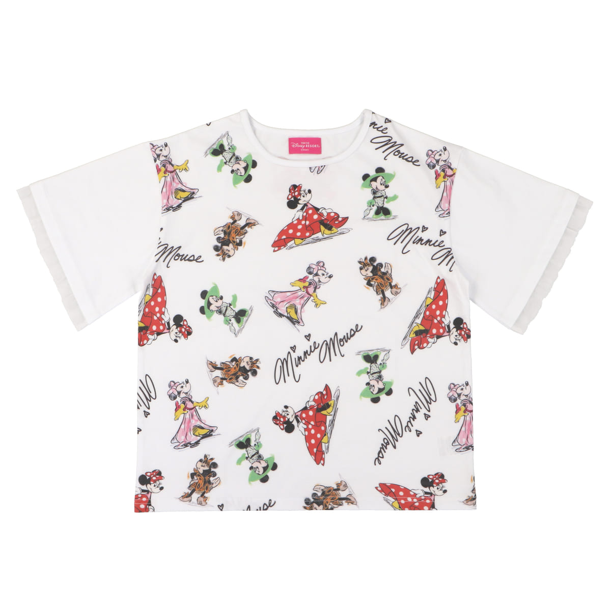 Tシャツ 総柄